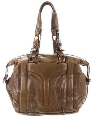 Zac Posen Leather Shoulder Bag
