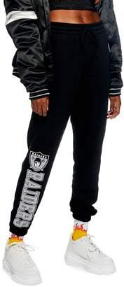 Topshop x NFL Raiders Jogger Pants