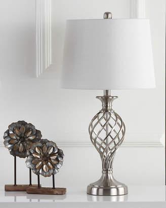 Safavieh Lattice Urn Table Lamps, Set of Two