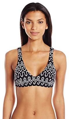 Seafolly Women's Tie Back Tank Bikini Top Swimsuit,4 US