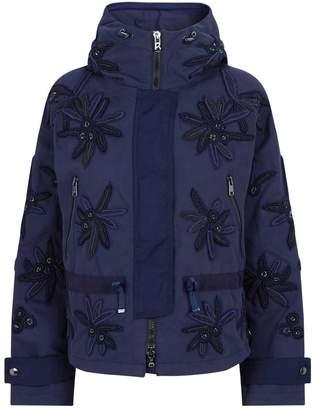 Bogner Beaded Floral Jacket