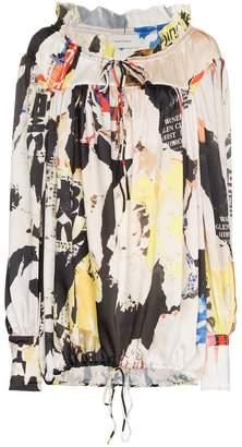 Marques Almeida Marques'Almeida Long-Sleeved Graphic Shirt