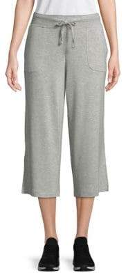 Andrew Marc Performance Cropped Wide Leg Pants
