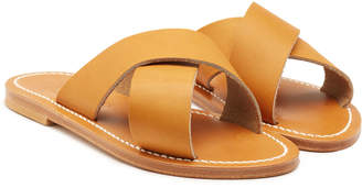 K. Jacques Temuco Leather Sandals