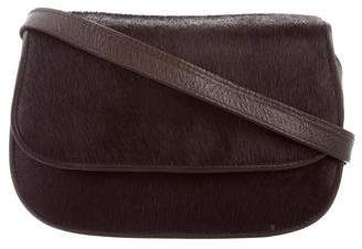 Saks Fifth Avenue Small Ponyhair Crossbody Bag