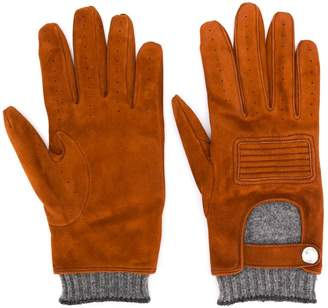 Brunello Cucinelli layered gloves