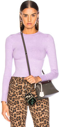 Joostricot JoosTricot Bodycon Long Sleeve Crew Neck in Lavender Hill | FWRD