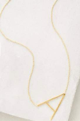 Cool and Interesting Gold Initial Necklace