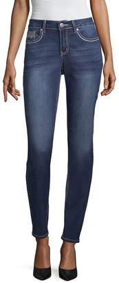 LOVE INDIGO Love Indigo Art Deco Pocket Jean - Tall