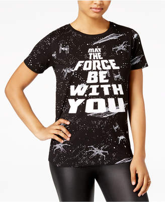 Star Wars Juniors' May The Force Graphic T-Shirt