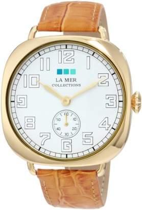 La Mer Women's LMOVW2049 Gold-Tone Oversized Vintage Watch