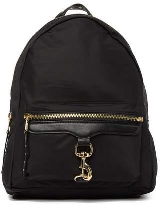Rebecca Minkoff Always On MAB Leather Trimmed Nylon Backpack