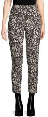 Max Mara Aramis Printed Cropped Pants
