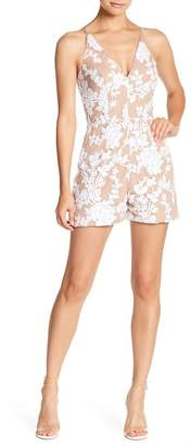 Dress the Population Carly Sequin Pattern Romper