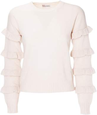 RED Valentino Frilled Sleeves Sweater