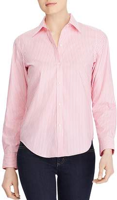 Lauren Ralph Lauren Pinstriped No-Iron Shirt