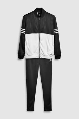 386ea64b26a9 at Next · Next Boys adidas Performance Black White Tracksuit
