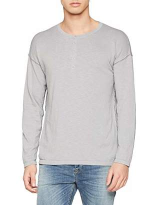 Benetton Men's Round Neck Sweatl/s Jumper,One (Size: Large)