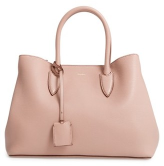 Max Mara Shiny Leather Tote - None $870 thestylecure.com