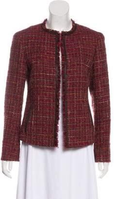 Lafayette 148 Tweed Crop Blazer