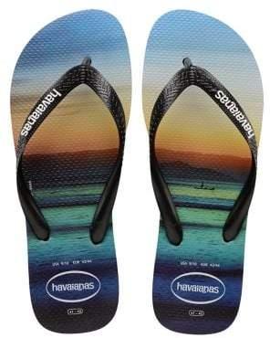 Havaianas Hype Rubber Flip Flops