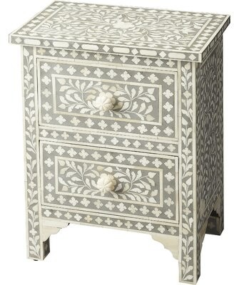 Bungalow Rose Denton 2 Drawer Accent Chest