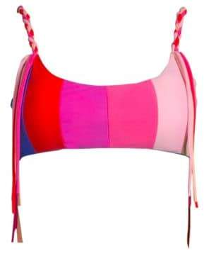 Paper London Rainbow Sunshine Swim Top