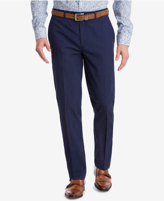 Bar III Closeout! Men's Slim-Fit Active Stretch Navy Stripe Seersucker Suit Pants