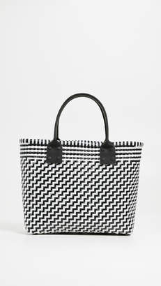 Truss Medium Tote with Leather Handles
