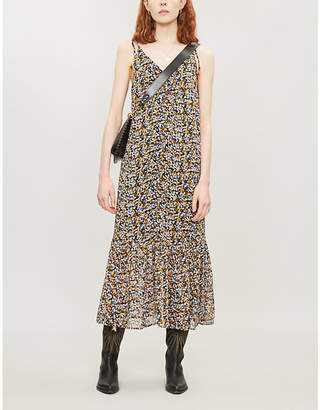 Gestuz Georgina floral-print crepe dress