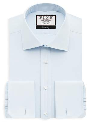 Thomas Pink Arthur Twill French Cuff Dress Shirt - Bloomingdale's Regular Fit