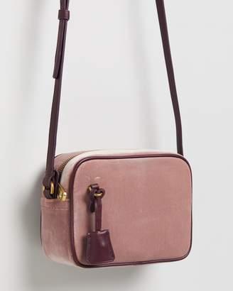 J.Crew Velvet Mini Signet Bag