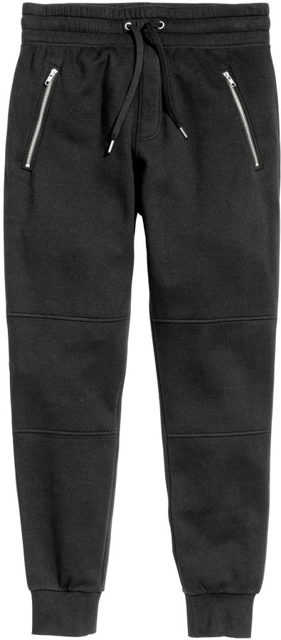 H&M - Joggers - Black - Men