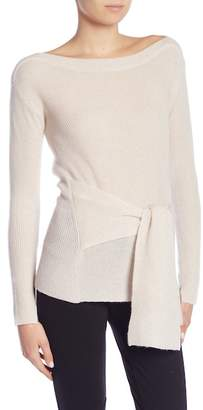 Brochu Walker Ayers Wrap Wool-Cashmere Sweater