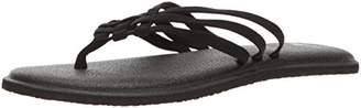 Sanuk Women's Yoga Salty Flip-Flop,11 M US