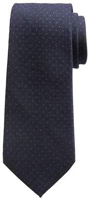 Banana Republic Twill Polka Dot Wool-Silk Nanotex® Tie