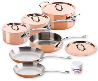 Mauviel Mheritage 150s Copper 10-Piece Set