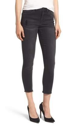 Wit & Wisdom Seamless Frayed Ankle Skimmer Jeans