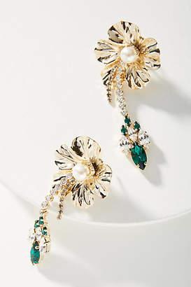 Anton Heunis Falling Flora Drop Earrings