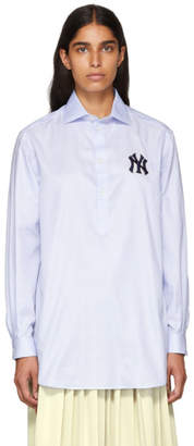 Gucci Blue New York Yankees Edition Alessandro Shirt