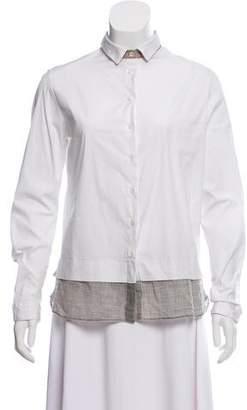 Fabiana Filippi Long Sleeve Button-Up