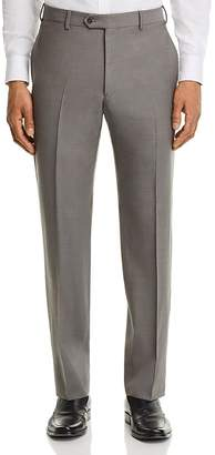 Emporio Armani Twill Regular Fit Tailored Dress Pants