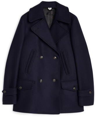 Arket Melton Wool Pea Coat