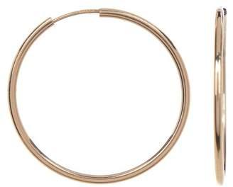 Candela 14K Yellow Gold Endless 25mm Hoop Earrings