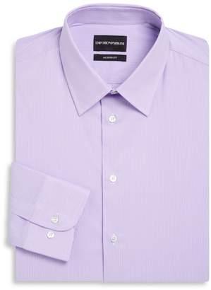 Emporio Armani Modern Fit Stripe Stretch Dress Shirt