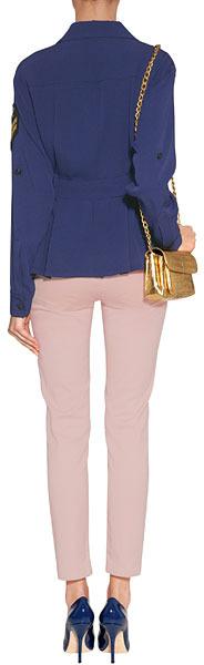 Emilio Pucci Blush Skinny Jeans