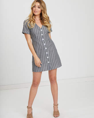Harlie Button Front Dress