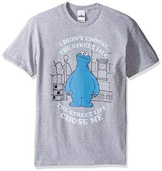 Sesame Street Men's Cookie Monster Life T-Shirt