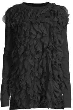Faith Connexion Ruffle Cotton Dress