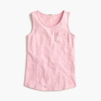J.Crew Girls' pocket tank top